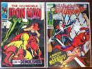 Spiderman #101 Morbius First apperance & Iron Man #2 Silver Age Key Comics