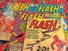 Lot-4 Silver The Flash #138#141#143#144(1963,DC) Carmine Infantino cover/art WOW