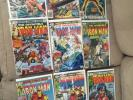 Bob Layton Signed Iron Man 120-128 Demon In A Bottle Complete Set