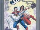 Superman The Wedding Album #1 CGC SS Signed 9.6 Louise Simonson