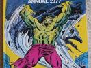 The Mighty World of Marvel Annuals *3 Books* 1977, 1978, 1979 VGC - Unclipped