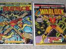 Strange Tales 169 178 Astonishing 25 1st Deathlok HG Marvel Bronze FF DD Lot