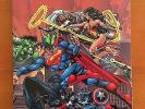 MARVEL VERSUS DC/DC VERSUS MARVEL TPB First Printing 1996 VF/NM to NM-