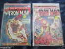 Marvel Iron Man #71,73,102,118,124,126,128,134,135,136,137,140,141,149,170,300,3
