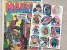 Mighty World of Marvel #3 + Free Gift - Fun Stickers Oct 21st 1972