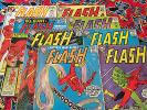 Lot-8 The Flash #138 #140 #141 #143 #154 #159 #169 #213 (1963, DC) Keys NR