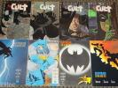 DC COMICS FRANK MILLER BATMAN DARK KNIGHT RETURNS #1-4 THE CULT #1,2,3,4 SET JLA