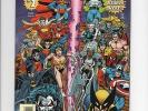 MARVEL VERSUS DC / DC VERSUS MARVEL WHOLE SET #s 1 - 4  HEROES OF BOTH  WORLDS