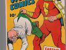 Captain Marvel Whiz Comics 57  nice copy   Fawcett NR
