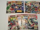 Captain Marvel Lot of 10 Comics 1 May 1968 5 13 31 32 33 37 47 53 57