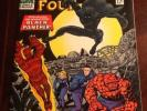 FANTASTIC FOUR #52 FIRST APP. OF THE BLACK PANTHER 7.0 To 7.5.