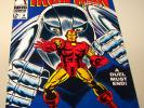 101) Iron Man # 8, 1968, approx. grade: NM- 9.2 The GLADIATOR WHITE pages