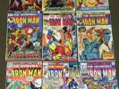 The Invincible Iron Man #22,43,45,58,63,70,75,99,114,171  Lot Marvel   L K