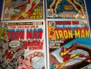Iron Man #119,120,121,122 Run of 4 Fine+ to VF+ Beauties Sub-Mariner Key