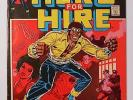 LUKE CAGE, Hero For Hire 1 (June 1972) 1st Issue Marvel Comic / Power Man Origin