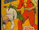 Whiz Comics #57 Unrestored Golden Age Captain Marvel Fawcett 1944 GD-
