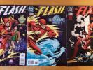 (1998) DC COMICS THE FLASH HUMAN RACE SET #136,137,138 1ST BLACK FLASH NM+