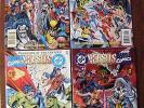 Marvel Versus DC / DC Versus Marvel #1-4 Comic Books, NM/MT, Original Owner 1996