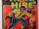LUKE CAGE, HERO FOR HIRE 1 (Marvel June 1972) Key Issue Power Man Origin Netflix