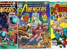 AVENGERS #117,128,137 Iron Man Thor 3 Classic Bronze-Age Issues 1973-75
