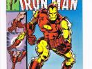 Iron Man # 126  Classic Iron Man costume change cover   grade 8.5 scarce book