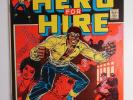 LUKE CAGE Hero For Hire 1 (Marvel 1972) Key Issue - NETFLIX - Many Photos