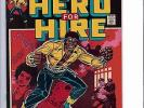 MARVEL LUKE CAGE 1 (HERO FOR HIRE - ORIGIN ISSUE) HIGH GRADE