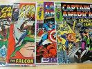 (4) CAPTAIN AMERICA COMIC BOOKS 117 SEPT, 118 OCT, 119 NOV & 120 DEC VF 8.0