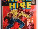 LUKE CAGE Hero For Hire 1 2 3 4 5 (Marvel 1972) Key Issue Power Man Origin