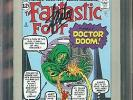 Marvel Milestone Edition: Fantastic Four #5 CGC 9.2 NM- SIGNED SINNOTT & LEE