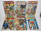 Marvel Comics Iron Man # 97 98 99 100 101 102 Higher Grade Run 7.0-8.5