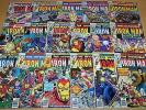 MARVEL COMICS IRON MAN 101-117 FULL RUN 1st VANGUARD 1977-1978