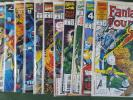 Fantastic Four Unlimited 1993 #1-12 Complete Series Set nm bagged boarded