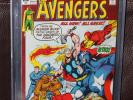 Avengers #93 (Marvel 1st Series) CGC 9.2 White Pages Neal Adams art/cover