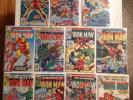 IRON MAN (Marvel 1979-81) HIGH GRADE Lot #122-24, 126 132-34, 136 143 145 147 NM