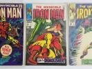 Invincible Iron Man Series Straight Run Lot #1-300 Vintage KEYS