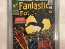 Fantastic Four #52, CGC 6.5, 1st appearance of the Black Panther