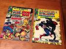 TALES OF SUSPENSE MARVEL 2 LOT *94 & 98 *BLACK PANTHER*CAPTAIN AMERICA*IRON MAN