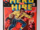 LUKE CAGE, HERO FOR HIRE 1 (Marvel 1972) KEY #1 Origin Issue Netflix - Power Man