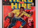 LUKE CAGE, HERO FOR HIRE 1 (Marvel 1972) KEY #1 Origin Issue / Netflix show