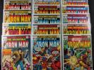 Iron Man #101-#117 Complete Run 17 Books Total All In Nice Condition Marvel
