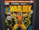 MARVEL STRANGE TALES #178 1975 CGC 9.0 WHITE PAGES 1st WARLOCK ISSUE - MAGUS