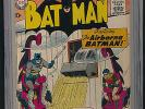 BATMAN 120 CGC 6.0 1958 DC 'The AIRBORNE BATMAN'