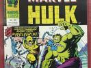 1976 UK / Mighty World Marvel #198 INCREDIBLE HULK 181 VF+* 1st WOLVERINE Rare