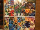 Fantastic Four Unlimited 1-12 Complete Set Namur Hulk Doom Galactus 1993