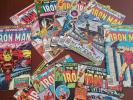 11 Iron Man Comic Lot / 80 100 116 117 119 121 122 123 125 126 129