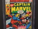 MARVEL COMICS CAPTAIN MARVEL #57 1978 CGC 9.6 WHITE PAGES THOR APPEARANCE