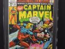 MARVEL COMICS CAPTAIN MARVEL #57 1978 CGC 9.8 OW/WP THOR APPEARANCE