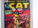 THE CLAWS OF THE CAT #1 1972 CGC 5.0 1st TIGRA (Greer Grant) Avengers Marvel Key