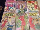 The Flash Lot #138 #134 #136 #137 #147 #140 SEND THESE TO CGC RARE $$$ 25 a book